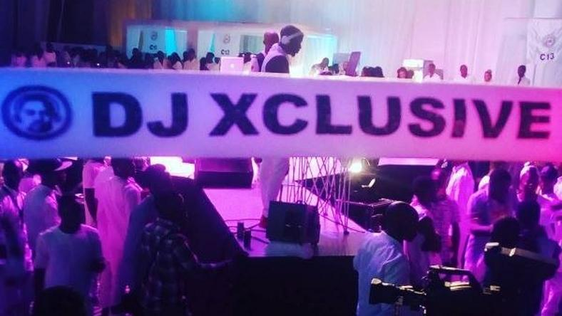 DJ Xclusive all white party