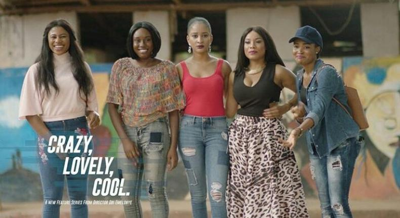 Crazy, Lovely, Cool is a 2017 coming-of-age TV series (linjust)