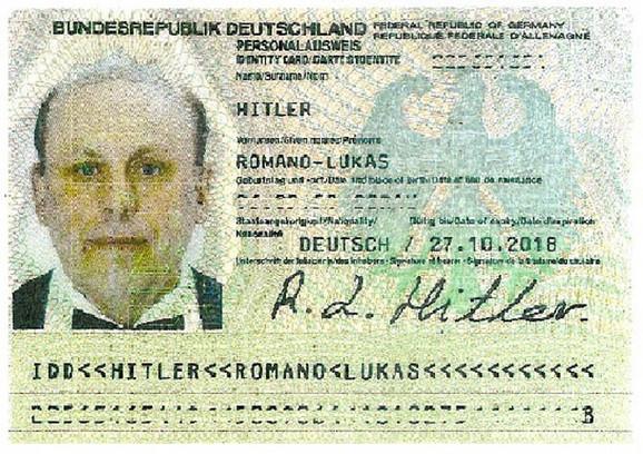 Hitlerova lična karta