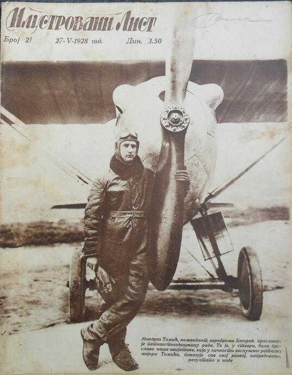 Tomić, Ilustrovani list, 1928. godina
