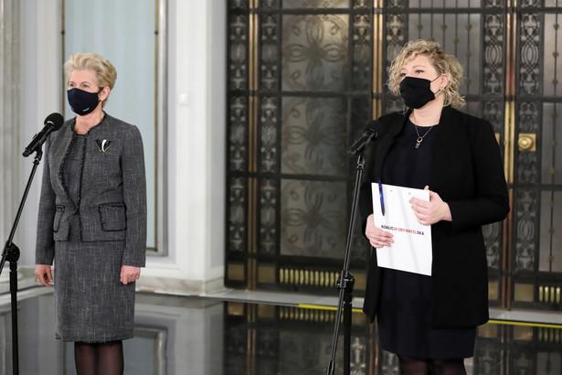 W czwartek parlamentarzystki Koalicji Obywatelskiej zaapelowały do posłów Prawa i Sprawiedliwości, by poprawkę ws. środków na psychiatrię dziecięcą poparli w Sejmie.