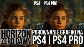 Horizon: Zero Dawn - porównanie grafiki na PS4 i PS4 Pro