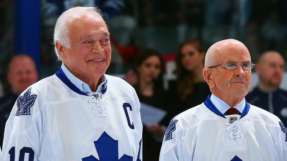 George Armstrong - legenda Toronto Maple Leafs