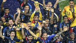 France won the last World Cup in 2018 and will be looking to retain the trophy in Qatar in 2022 Creator: Alexander NEMENOV