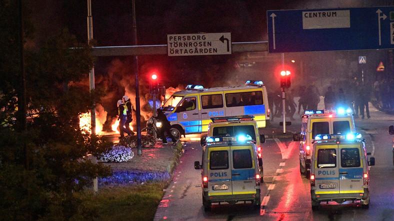 Zamieszki w Malmö w Szwecji