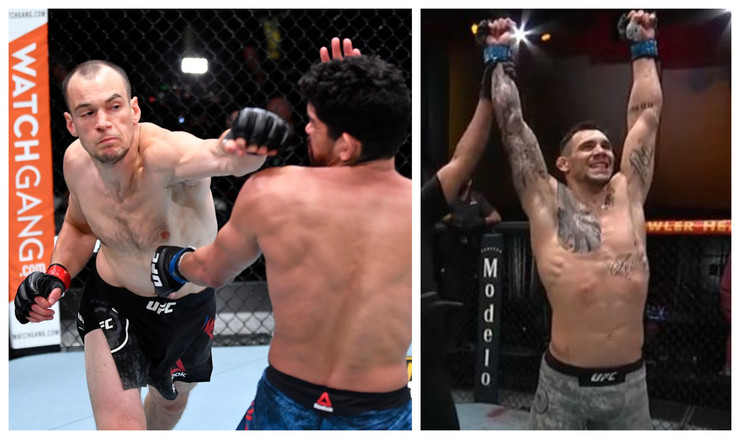 UFC 259, Uroš Medić, Aleksandar Rakić