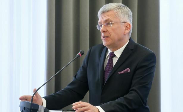"""""""Chcemy, aby stabilna sytuacja, aby stabilna Grupa Wyszehradzka stabilizowała również sytuację w UE"""" - podkreślił Karczewski. Głos Polski - dodał - będzie dzięki temu """"wzmacniany przez właśnie cztery kraje UE""""."""