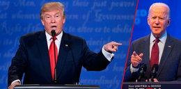 Debata prezydencka w USA. Trump domaga siętestu narkotykowego dla Bidena