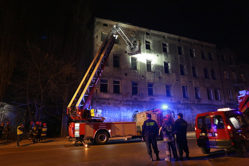 katastrofa budowlana przy Wólczańskiej w Łodzi