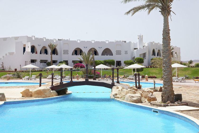 Hotel w którym zatrzymała się w Egipcie