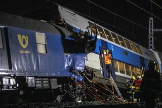 Katastrofa kolejowa w Czechach. Nie żyje jedna osoba, wielu rannych
