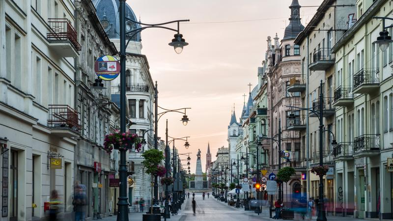 Łódź, Piotrkowska