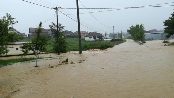 Požega, poplava