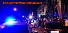 Zabójstwo 10-letniej Kristiny. Ponad sto osób czekało na podejrzanego. Poleciały kamienie
