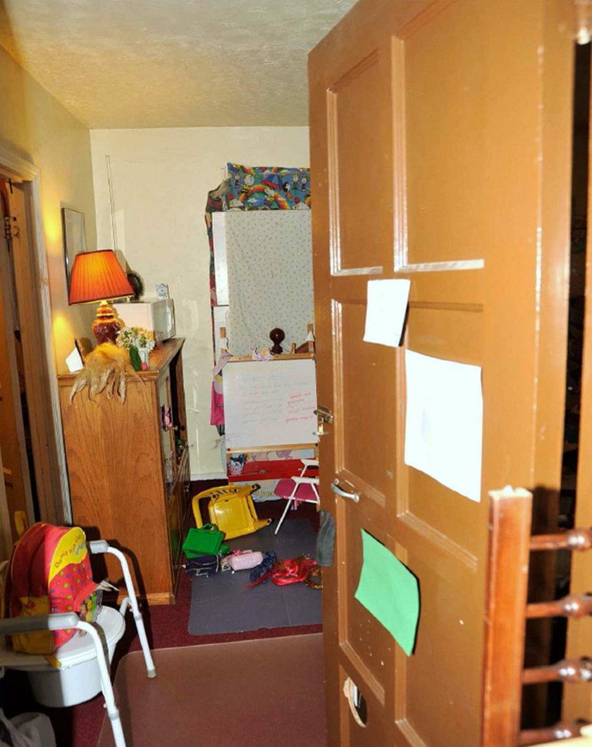Pokój dziecięcy w domu Castro