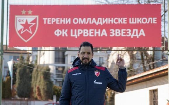 Boban Bajković već obavlja funkciju trenera golmana u Omladinskoj školi Crvene zvezde
