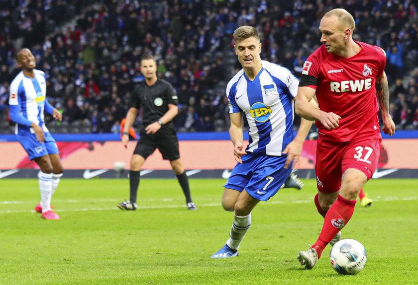 Polak ma stałe miejsce pierwszym składzie Herthy, ale nadal czeka na swoją pierwsza zdobytą bramkę w lidze niemieckiej.