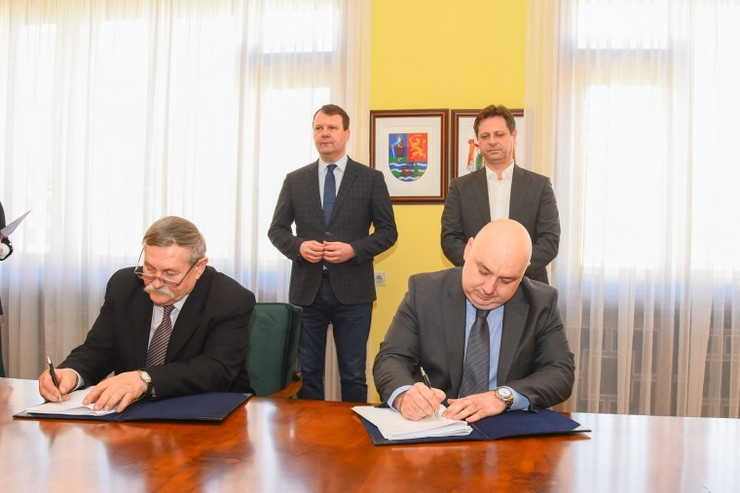 Potpisivanje ugovora za izgradnju prečistača otpadnih voda u Bačkoj Topoli, Novi Sad Igor Mirović