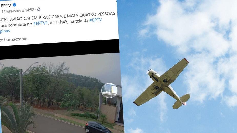 Brazylia: Śmierć miliardera. Zginął w awionetce wraz z rodziną