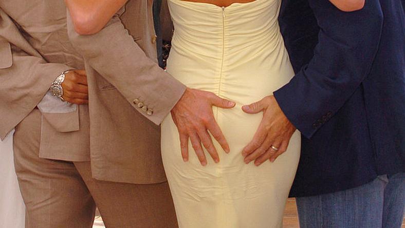 Hugh Jackman, Rebecca Romijn i Kelsey Grammer