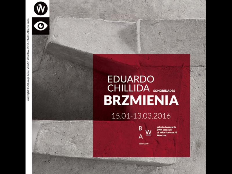 """""""Brzmienia"""" wystawa Eduardo Chillidy w galerii Awangarda BWA Wrocław"""