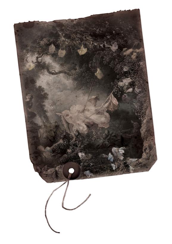 The Garbage Swing, 2010, digital print, 52x78 cm