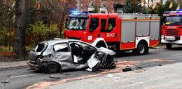 Śmiertelny wypadek pod Szczecinem. Sprawca próbował uciekać przed policją