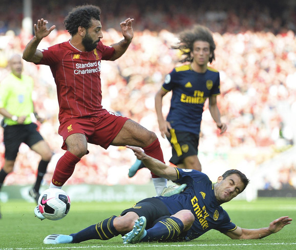 Detalj sa meča Liverpul - Arsenal