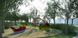 Upiększą park na Strachocinie. Ruszył remont