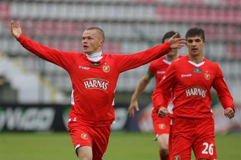Widzew Łodź - Zagłębie Lubin 1:0 w meczu 27. kolejki ekstraklasy