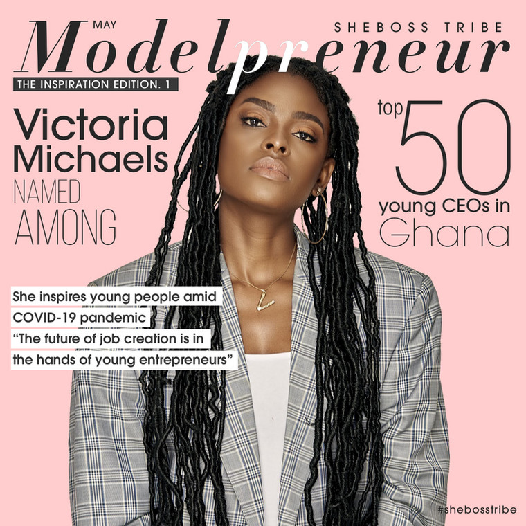 Victoria Michaels named among top 50 young CEOs in Ghana, dawuroGH