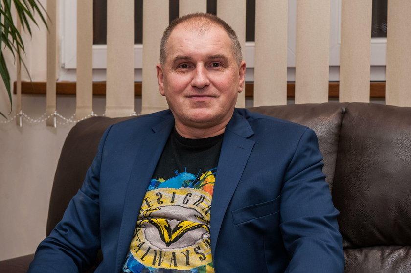 Piotr Gamrot, dyrektor Domu Kultury w Wolbromiu