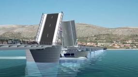 Otwarto nowy most na chorwacką wyspę Čiovo koło Splitu