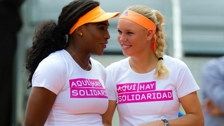 Serena Williams i Caroline Wozniacki