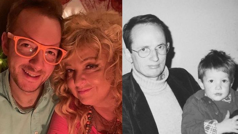 Tadeusz Muller z mamą Magdą Gessler i tatą Volkhartem Müllerem