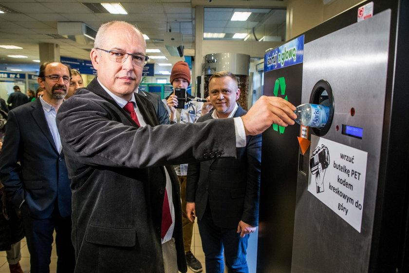 Krakowianie chcą butelkomatów do plastiku