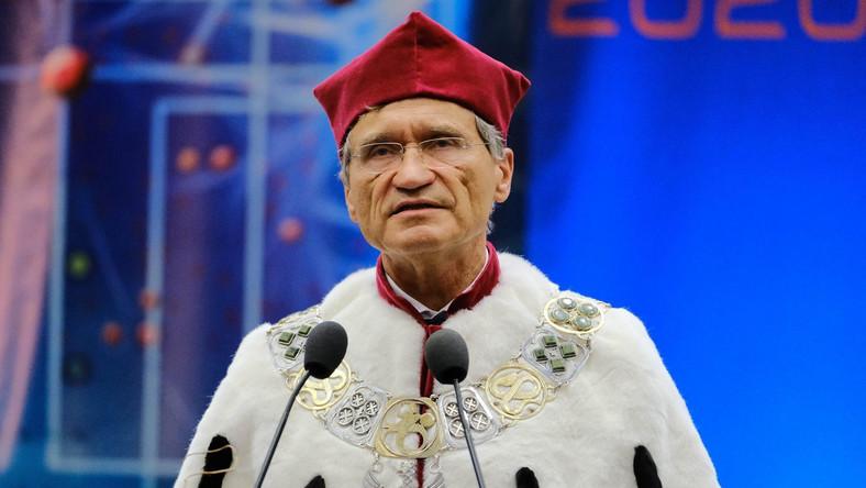 Rektor WUM prof. Zbigniew Gaciong PAP/Mateusz Marek