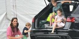 Rodzina na swoim. Kate i Meghan z dziećmi