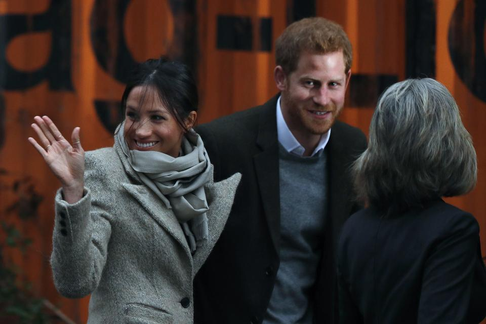 Książę Harry i Meghan Markle w Brixton