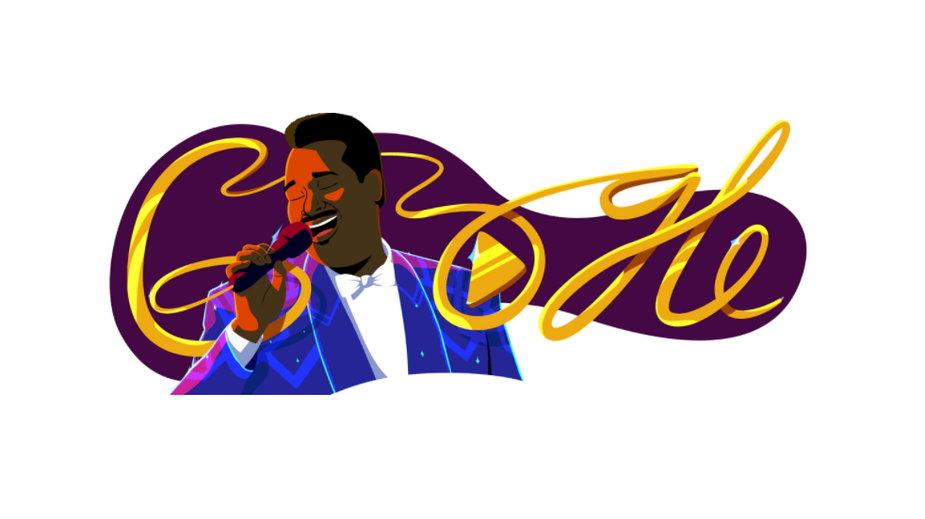 Grafika z Google Doodle pokazująca Luthera Vandrossa