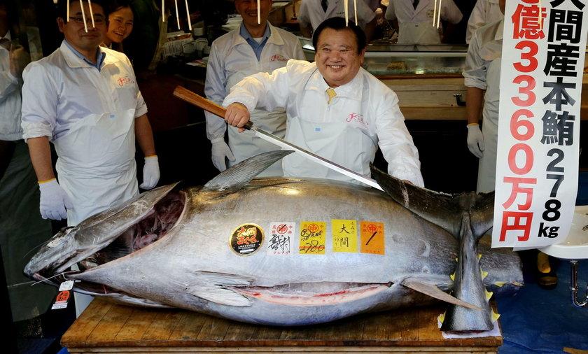 Zawrotna cena tuńczyka. Nie uwierzysz, że tyle za niego zapłacono