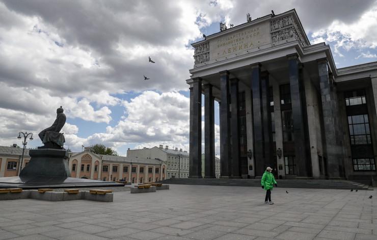 Moskva rusija koronavirus