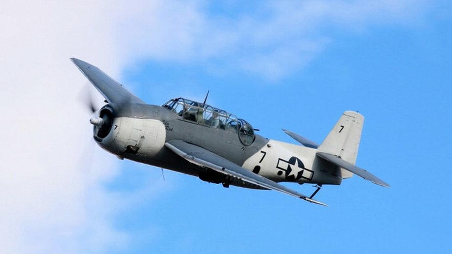 Samolot Grumman TBM Avenger