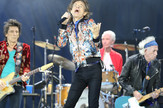 The Rolling Stones in concert in Manchester, 5.6.2018.