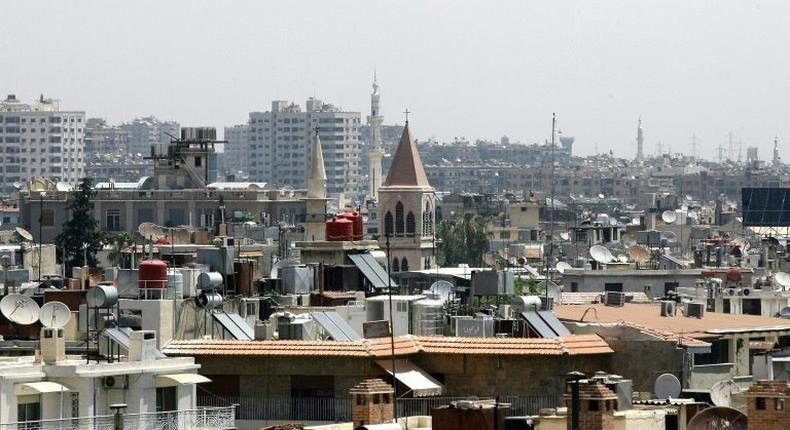 Syria's capital Damascus, pictured in 2013