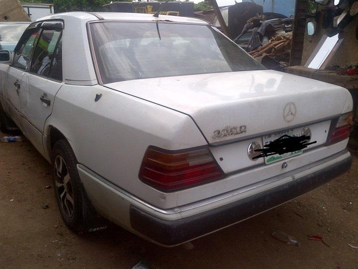 This car is also crudely known as the V Yansh (Nairaland)