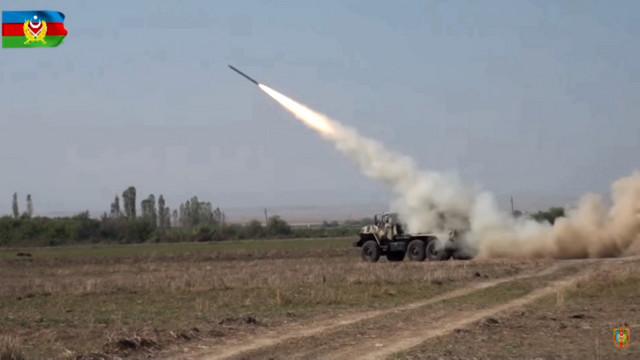 Azerbejdžanska vojska u napadu