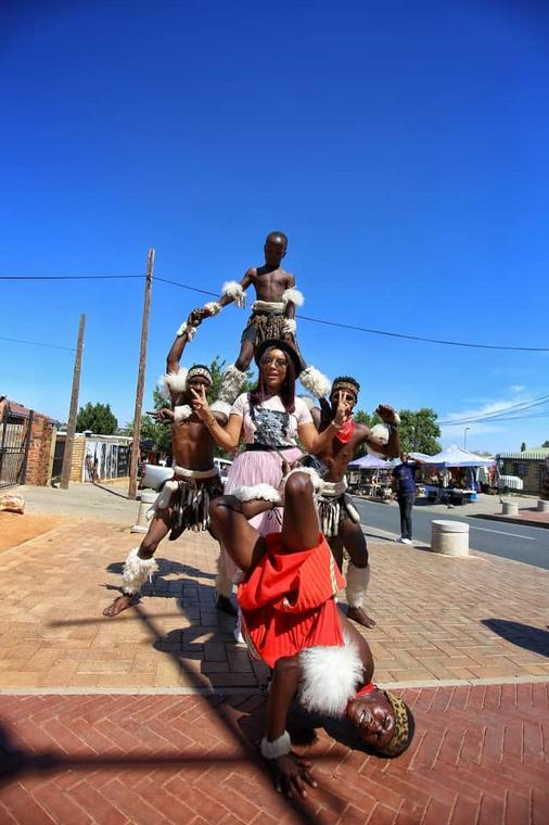 Joselyn Dumas in Soweto