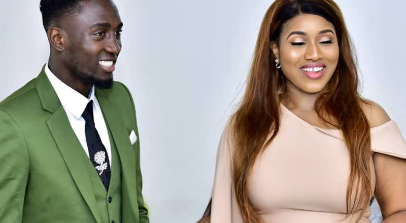 Nigerian footballer Wilfred Ndidi celebrates first wedding anniversary with his wife Fortunate