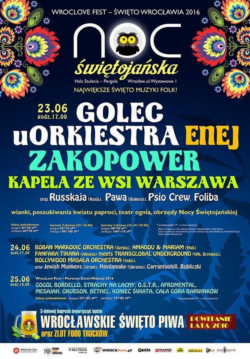 Noc Kupały 2016 we Wrocławiu